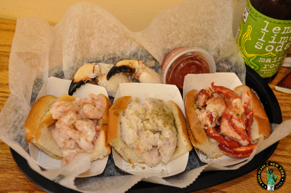 Luke's Lobster, the best lobster roll in New York