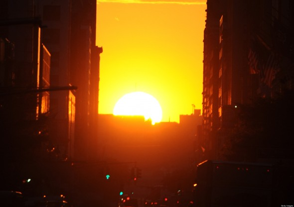 Watch The Manhattanhenge In May And July 2017 In New York
