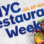 New York Restaurant Week in Summer 2016