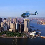 Take a helicopter tour in New York