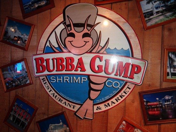 The Bubba Gump Restaurant In Times Square A New York City