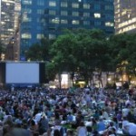The New York Bryant Park Summer Film Festival 2017