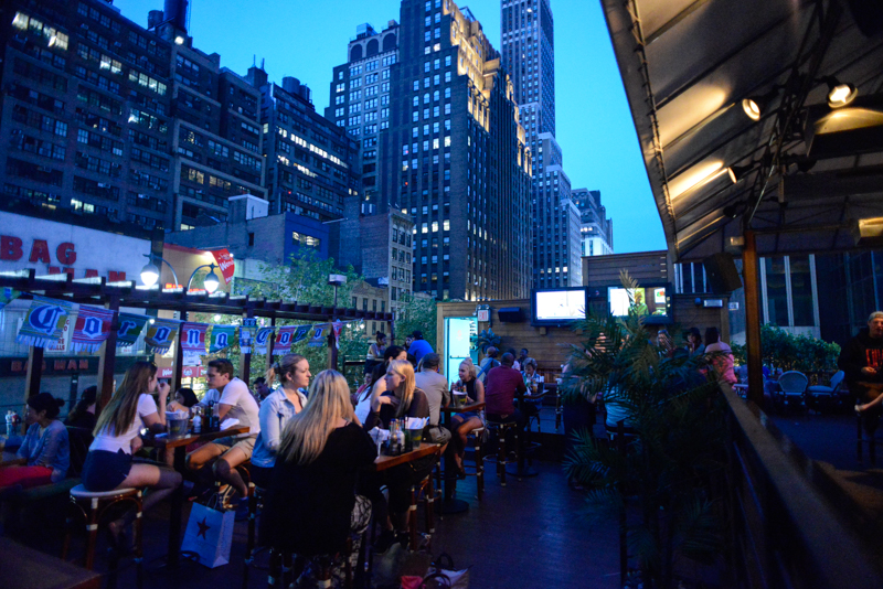 Lucy S Cantina Royale A Rooftop Bar In New York