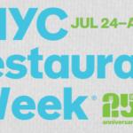 New York Restaurant Week in Summer 2017