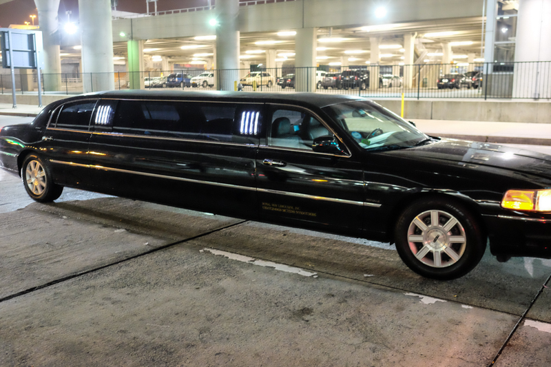 Rent a limousine and arrive in New York in style!!