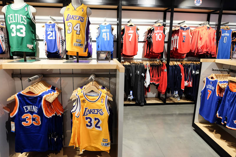 new style 9af4d c23ae The NBA Store of New York City, not only for NBA fans!
