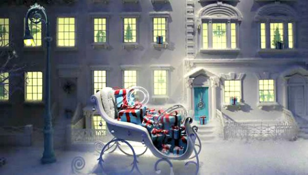 Christmas And Holiday Windows At New York Department Stores