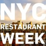 The New York Restaurant Week in Winter 2018
