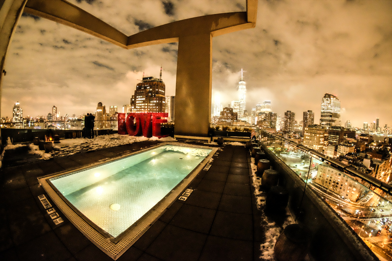 Rooftop Bars Nyc >> Jimmy at the James, a trendy rooftop bar in SoHo