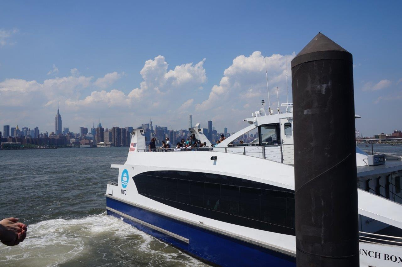 NY Waterway, NY Water Taxi and NYC Ferry: a fun way to visit
