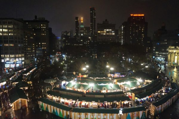 Union Square Christmas Market Caro NYCTT