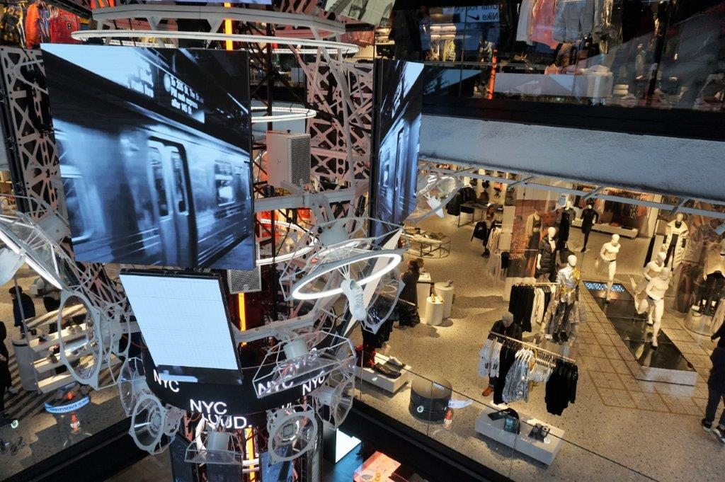 Nike House of Innovation, the new flagship store in New York