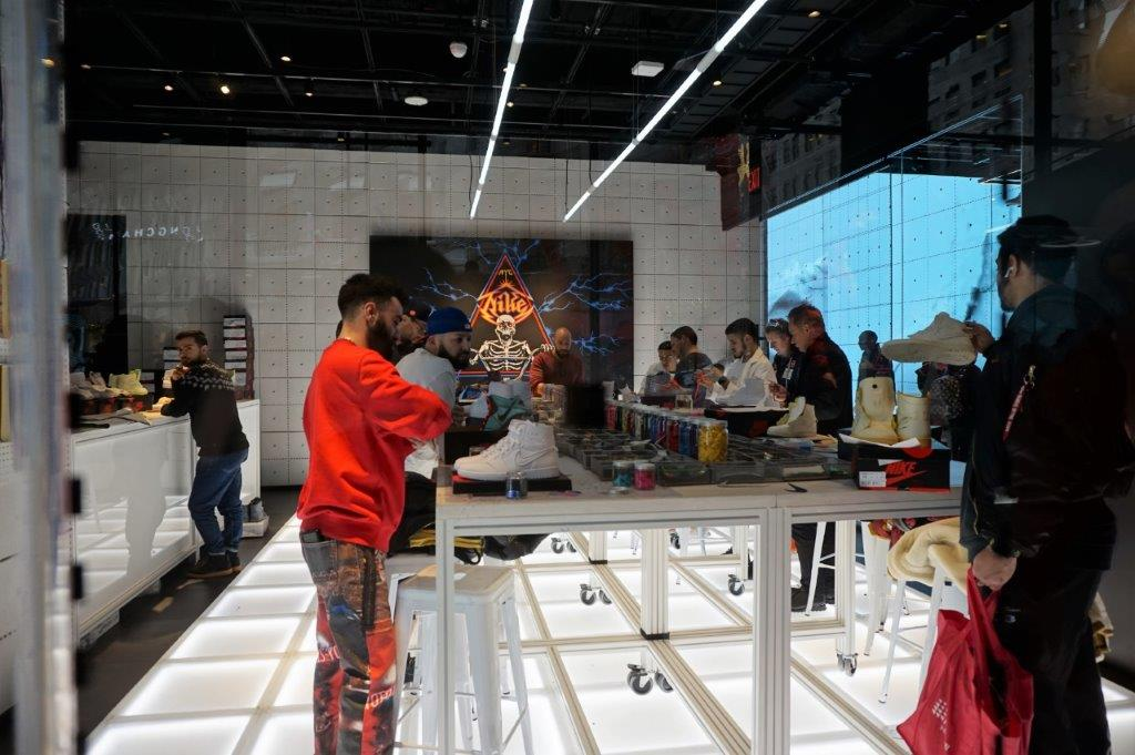 Ajustable Instantáneamente Responder  Nike House of Innovation, the new flagship store in New York City