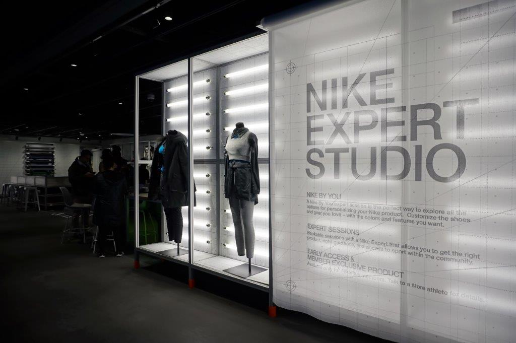 ny nike store back to the future