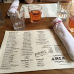 Aria Wine Bar, an Italian restaurant in West Village