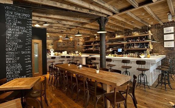 Aria Wine Bar, an Italian restaurant in West Village
