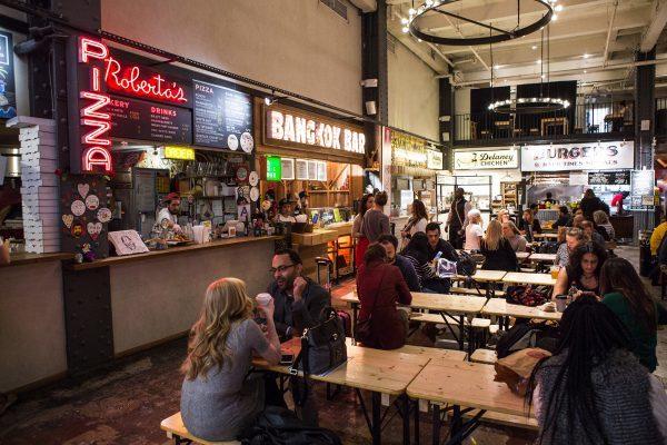 Urbanspace Vanderbilt Market A Food Court In Midtown