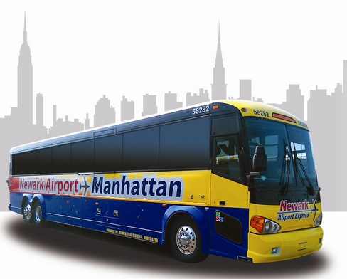 How to transfer from Newark airport to Manhattan?