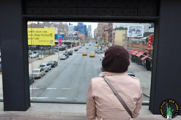 Go for a walk and discover the High Line in New York