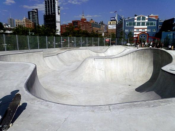 Chelsea Pier 62 Skate Park Hudson River Park