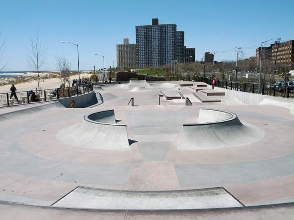 Far Rockaway Skatepark in Queens