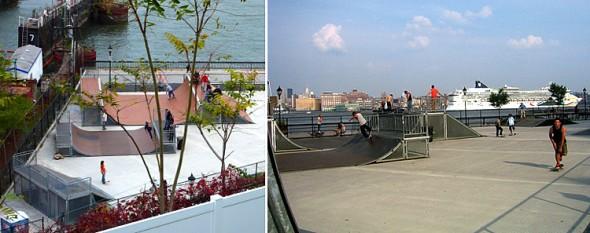Hoboken Skate park in New Jersey