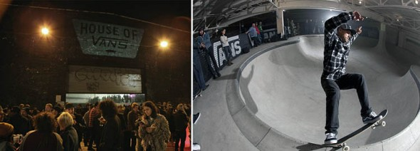 House of Vans in Brooklyn (NYC)