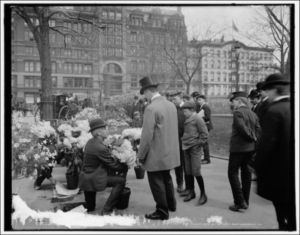 Union Square market in the 1920-30's