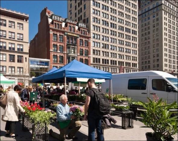 Union Square market today