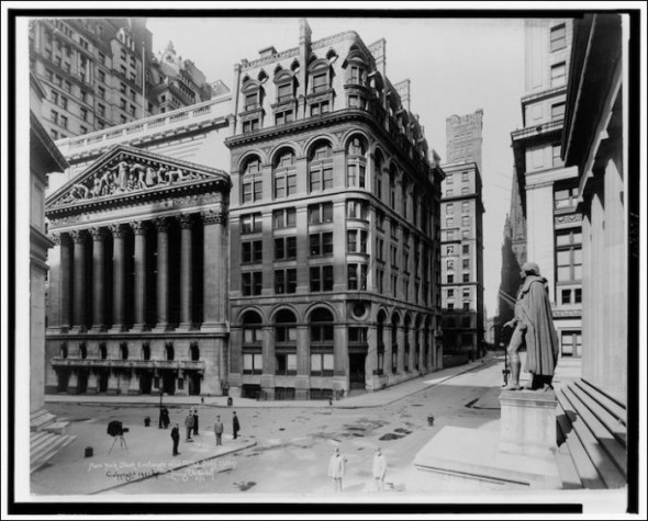 Wall Street in the 1920's
