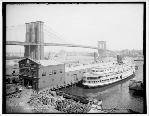 The Brooklyn Bridge in the 1920-30's