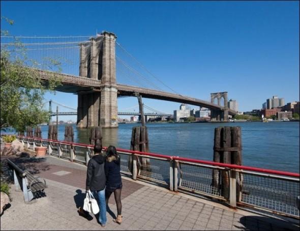 The Brooklyn Bridge today