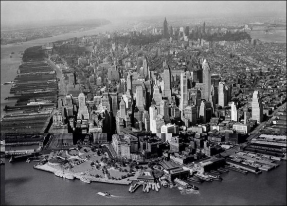 Financial District in the 1940's
