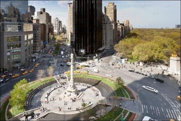 Columbus Circle today