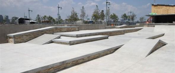 TriBeCa Skate Park Pier 25 Street Plaza