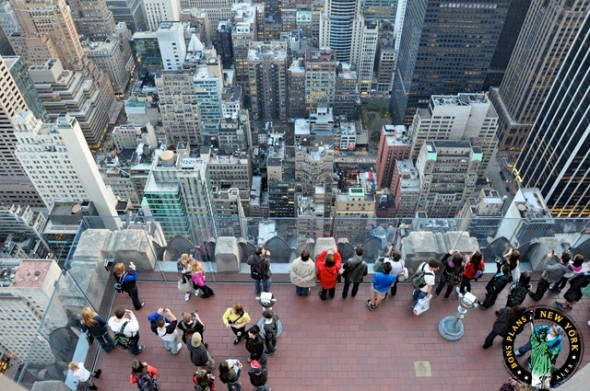 Visit the Empire State Building or the Top of the Rock day and night