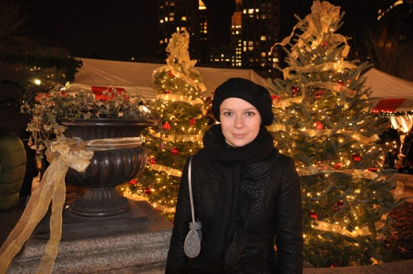 Christmas markets in New York