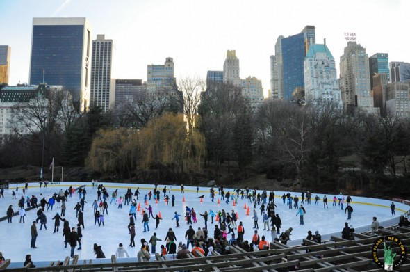 New York ice skating rinks for the winter holidays