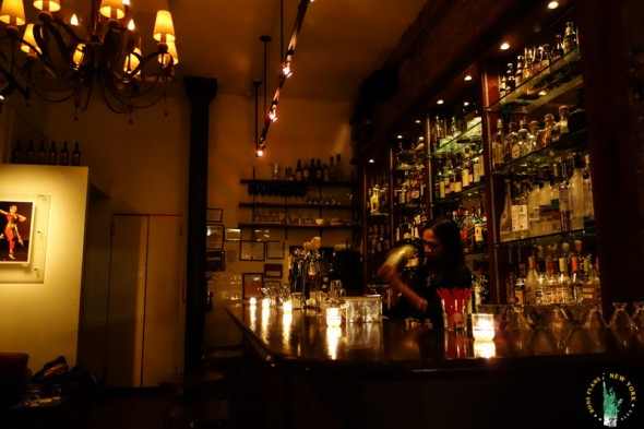 The Sunita Bar, a small Lower East Side lounge offering chili cocktails