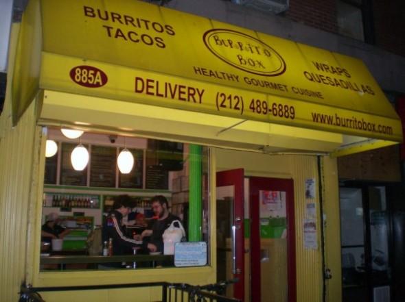 Top 10 best Burritos in New York