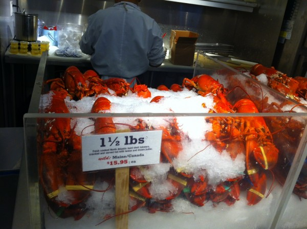 Lobster tasting at Chelsea Market