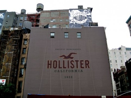 Go shop at Hollister in New York