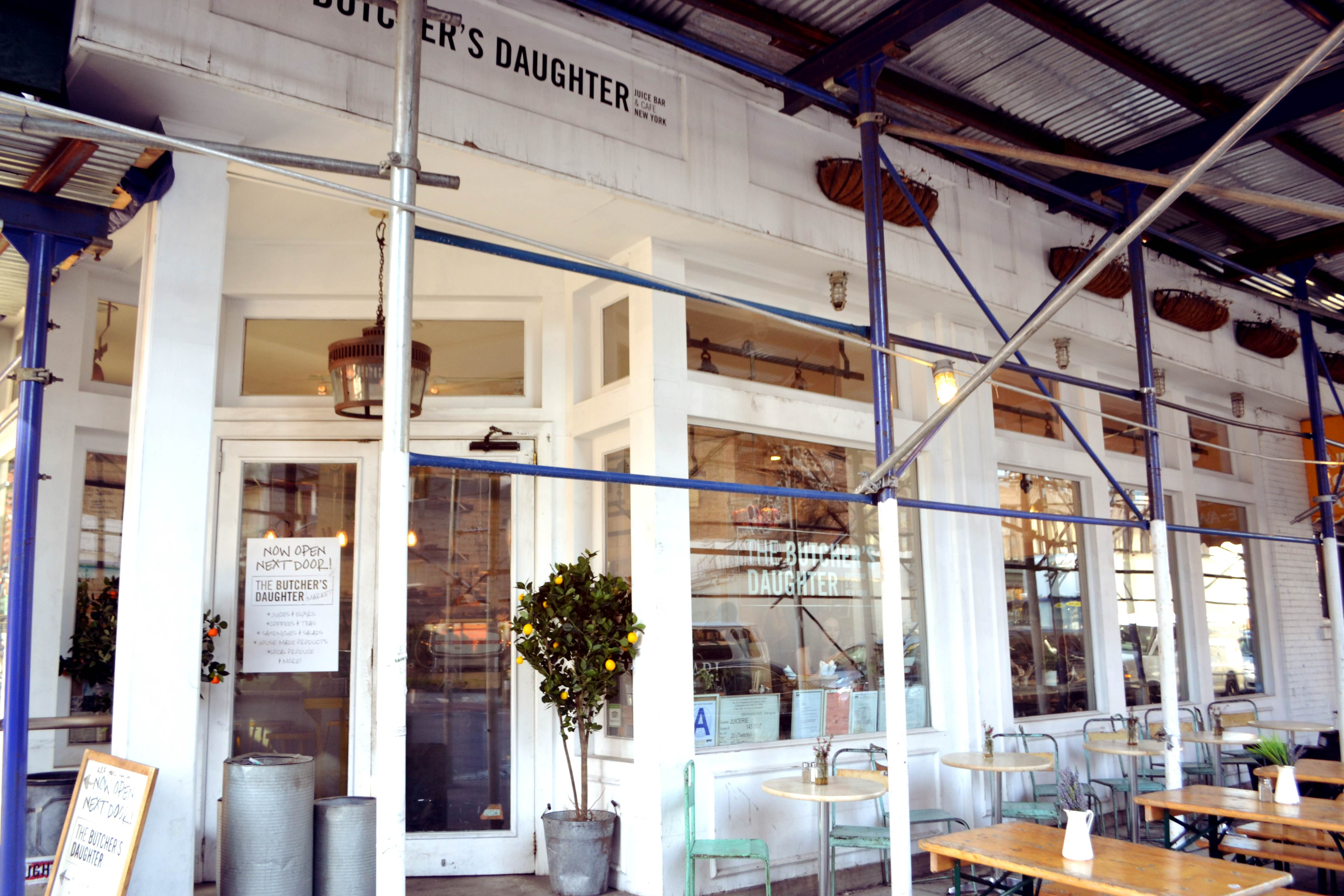 The Butcher S Daughter A Juice Bar And More