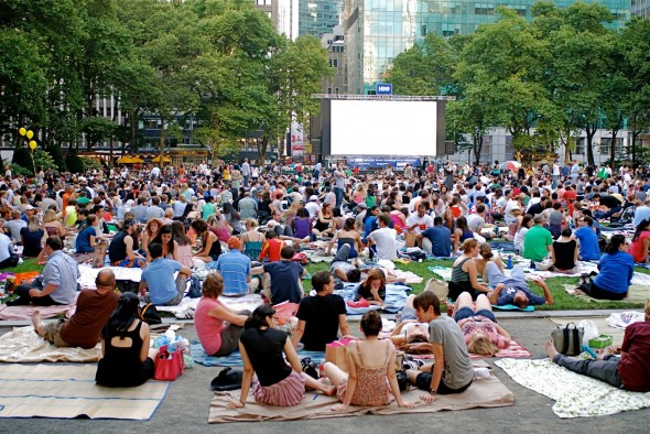 The New York Bryant Park Summer Festival