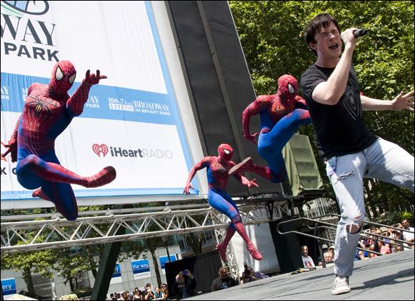 Spider-man-Bryant-park