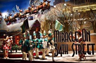 christmas and holiday windows at new york department stores - Stores Open On Christmas 2014