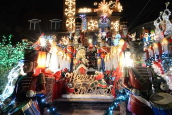 discover the christmas decorations of dyker heights in brooklyn - New York Christmas Decorations