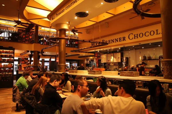 The Max Brenner Restaurant At Union Square
