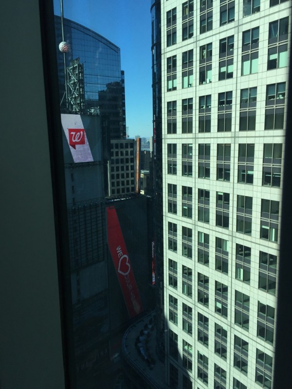 The hotel, the Hilton Garden Inn Times Square Central (NYCTT by Laurent)